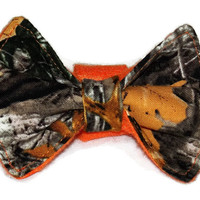 Realtree Camouflage Bow Tie - Dog Collar Add-on