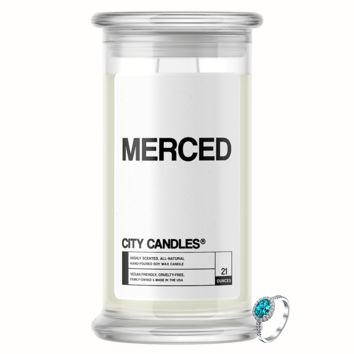 Merced   City Jewelry Candle®