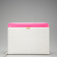 Diane von Furstenberg Zip Around Laptop Case