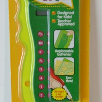 Crayola School Calculator & Ruler
