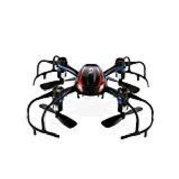 MJX X902 Mini RC Drone Helicopter, 2.4GHz Radio Control RC Quadcopter, 4CH 6 Axis Gyro, 360-degree 3D Rolling and LED Night-Lights - Black