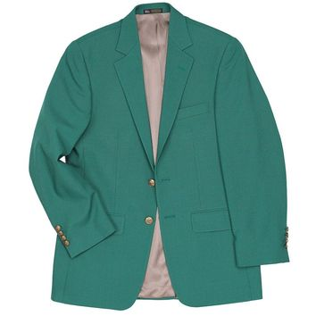 Champions Blazer in Green by Country Club Prep