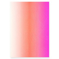 Ombre Paseo Neon Pink Notebook in three sizes