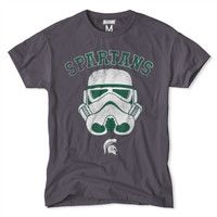 Michigan State Spartans NCAA Star Wars T-Shirt - Charcoal