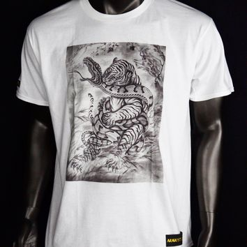 T-Shirt - TiGER  vs Snake