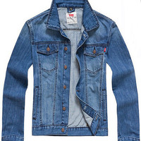 LEVI DENIM VINTAGE LIGHT STYLE JACKET - A Very Based You