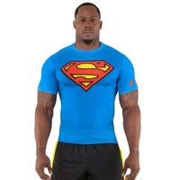 Under Armour Men's Alter Ego Short Sleeve Compression Shirt Large Royal
