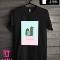 pastel cactus T-Shirt for man shirt, woman shirt **