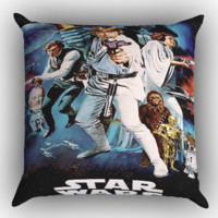 Star Wars X1719 Zippered Pillows  Covers 16x16, 18x18, 20x20 Inches