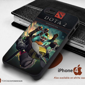 Gyrocopter Dota 2 for iPhone 4/4S, iPhone 5/5S, iPhone 6, iPod 4, iPod 5, Samsung Galaxy Note 3, Galaxy Note 4, Galaxy S3, Galaxy S4, Galaxy S5, Galaxy S6, Phone Case