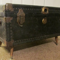Steamer Trunk Coffee Table by pdxpicker on Etsy