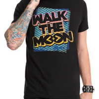 Walk The Moon Neon Logo T-Shirt