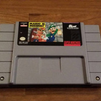 Free Shipping - Mario is missing - super Nintendo snes nes system game - Great kid game! Christmas holiday gift