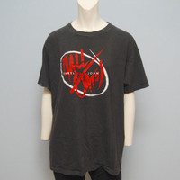 "Vintage Hall And Oates 1985 ""Big Bam Boom"" Tour T-Shirt -"