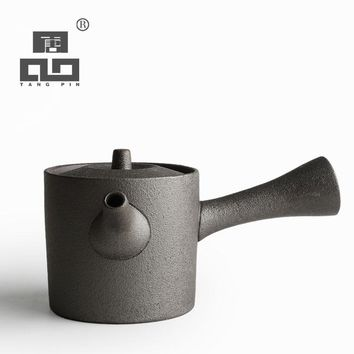 Japanese Style Stylish Ceramic Teapot (3 color)