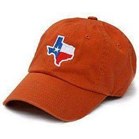 TX Traditional Hat in Burnt Orange by State Traditions