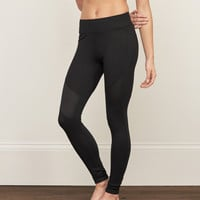 A&F Contrast-Panel Leggings