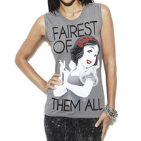 Snow White Laser Cut Tank | Shop Just Arrived at Wet Seal