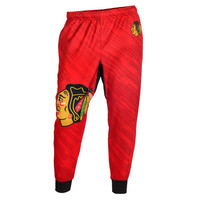 Chicago Blackhawks Official NHL Men's Jogger Pants