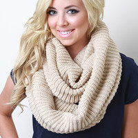 Pure Warmth Infinity Scarf