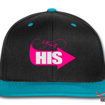 hers - his left side Snapback