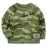 Camo French Terry Pullover