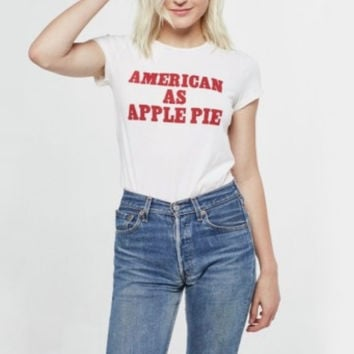 project social t - american as apple pie tee shirt
