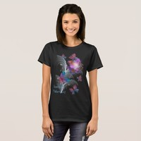 Flowers & butterflies-fractals beauty T-Shirt