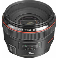 Canon EF 50mm f/1.2L USM Lens 1257B002 B&H Photo Video