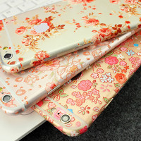 Narsissus Flowers Pattern Decal Skin Set for the Apple iPhone 6 6s 6 Plus Korea