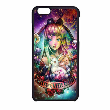 Disney Princess Alice In Wonderland iPhone 6 Case