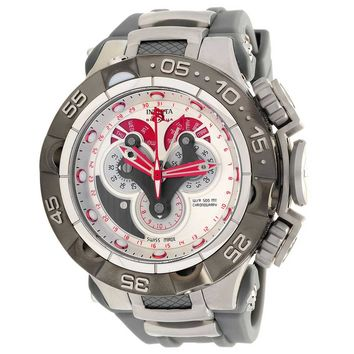 Invicta 18531 Men's Subaqua Noma V Grey & Red Dial Chronograph Dive Watch