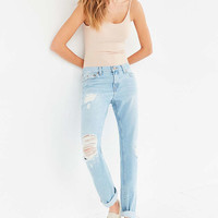 BDG Slim Boyfriend Jean - Vintage Denim Slash - Urban Outfitters