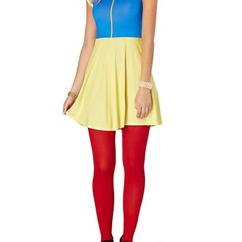 Snow White Skater Dress
