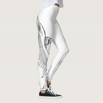 Vintage Sphinx illustration Leggings