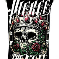 PIERCE THE VEIL skull Rock Band Music Metal T Shirt Tank Top Singlet Vest Sleevless One Size Fits All