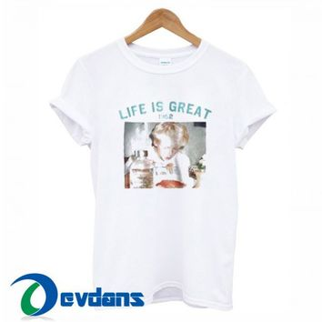 Life Is Great 1952 T Shirt Women And Men Size S To 3XL