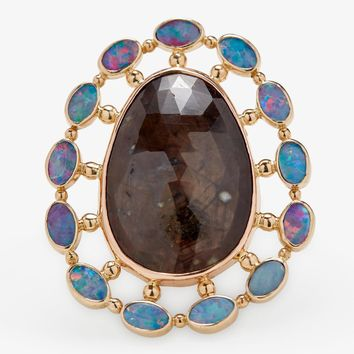 Melissa Joy Manning One-of-a-Kind Sapphire & Opal Doublet Ring