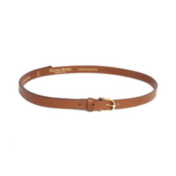 Rebecca Taylor Skinny Belt With Gold Buckle