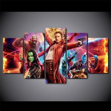 Guardians Of the Galaxy Wall Art Canvas Picture For Living Room Bedroom Home Dec