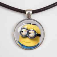 Despicable me minions Necklace Despicable me minions jewelry,Despicable me minions Pendant charm, Agents of shield gift,friend gift Necklace