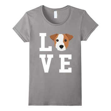 I Love My Dog Jack Russell Terrier Animal Lover T-Shirt