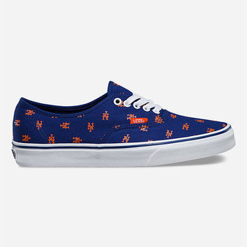 VANS x MLB Mets Authentic Shoes | Sneakers