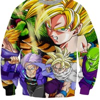 Dragon Ball Z Warriors Crewneck Sweatshirt