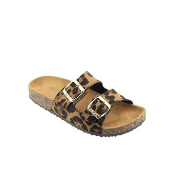 The Buckle Slip On, Leopard