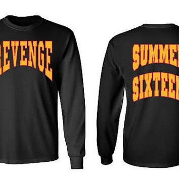 Summer Sixteen Tour Revenge Long Sleeve Tee, Drake-54398-54548 L/S TEE