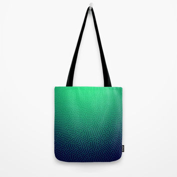 Abstract Pattern Tote Bag by tmarchev