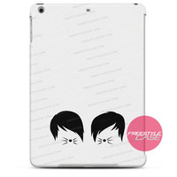 Phil and Dan Cat Whiskers Merch iPad Case Case Cover Series