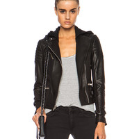 Night Leather Jacket in Black