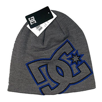 Mens DC Shoes VC Spinner Beanie (Grey/Blue)